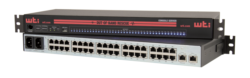 IP-to-Serial Console Servers for GigE Networks