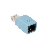 RJRJ-ROLL RJ45 to RJ45 Rollover Adapter