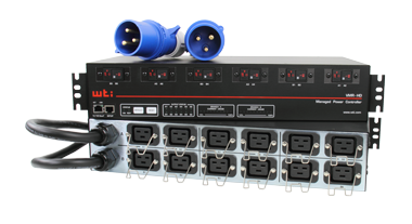 High Density, Outlet Metered, Remote Power Control for Blade Chassis and other High Amp Devices