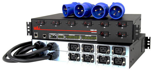 128 Amp Power Delivery To Control Cisco Nexus 9000 and Juniper QFX Switches